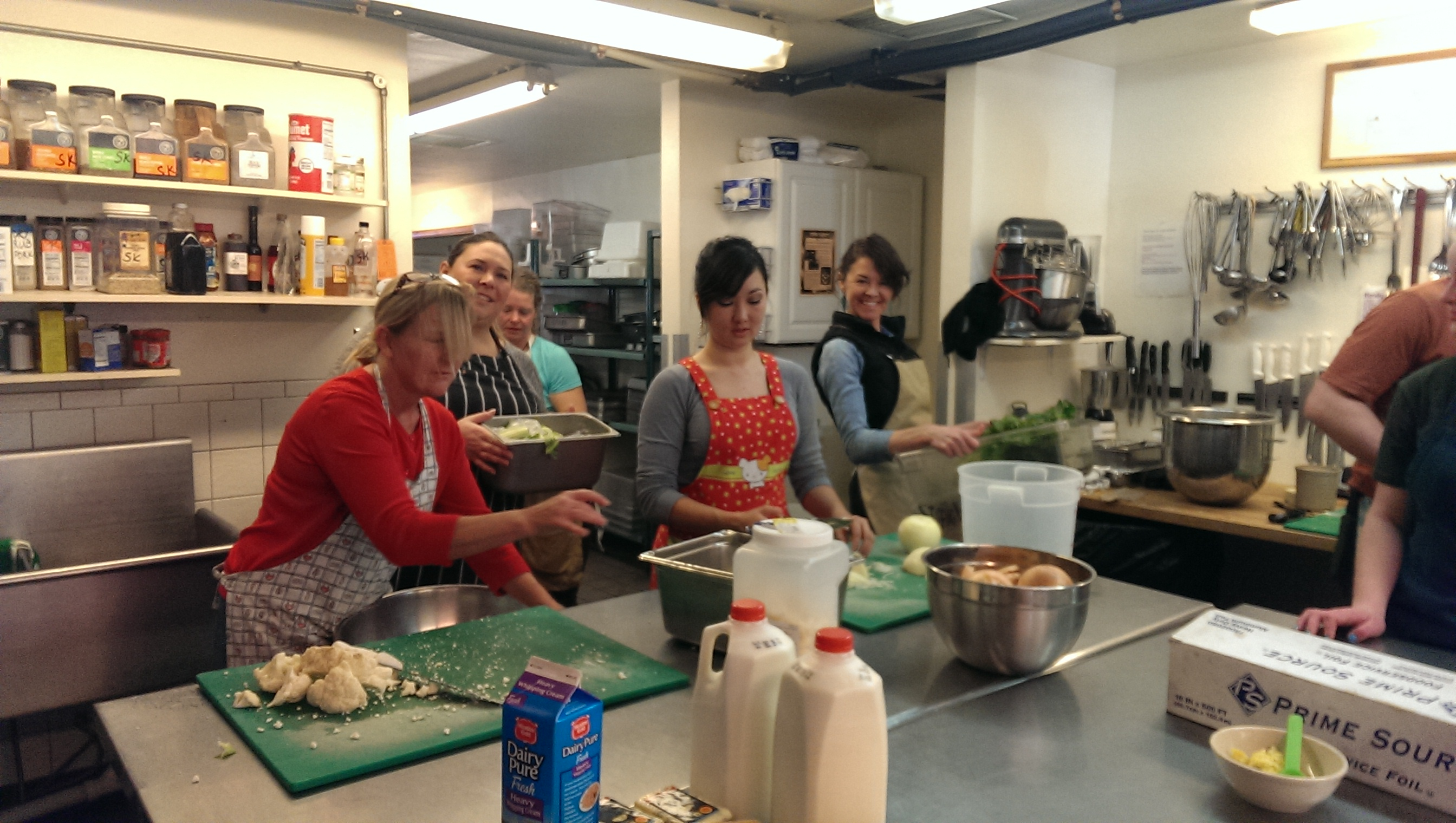 Soup Kitchen Volunteering At Manna Soup Kitchen Think Network Technologies