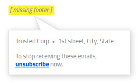 Phishing - What's in the footer?