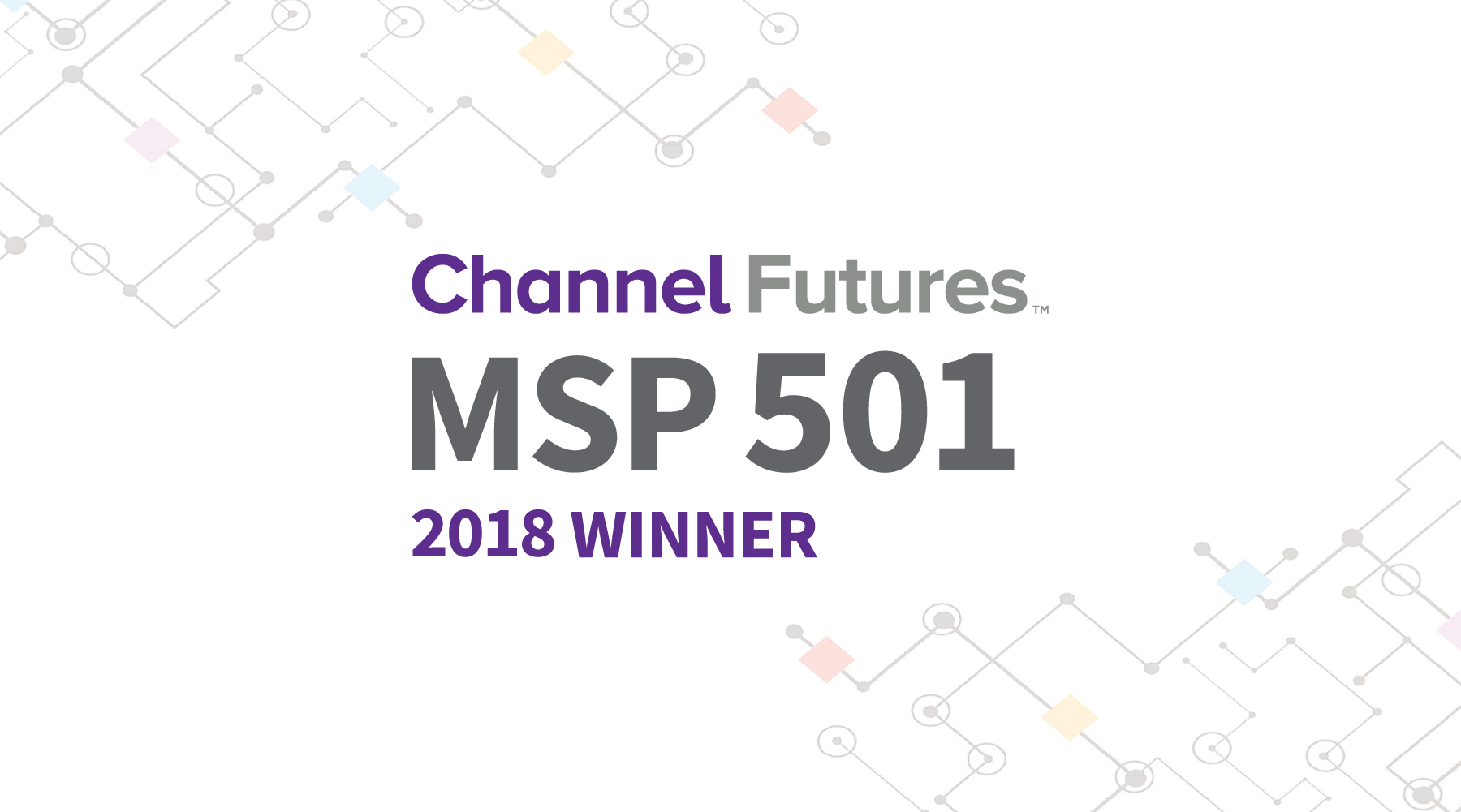 Channel Futures MSP 501 2018 Winner